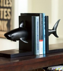 SharkBookends