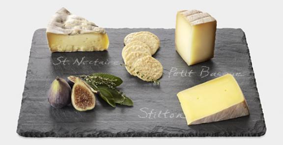 Slate Cheese Board & Slate Cheese Board - The Curated Crave